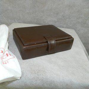 COACH Vintage 'Valet Box' #8057 Mahogany NEW